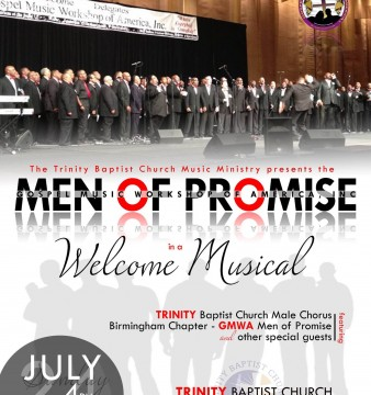GMWA Men of Promise Welcome Musical