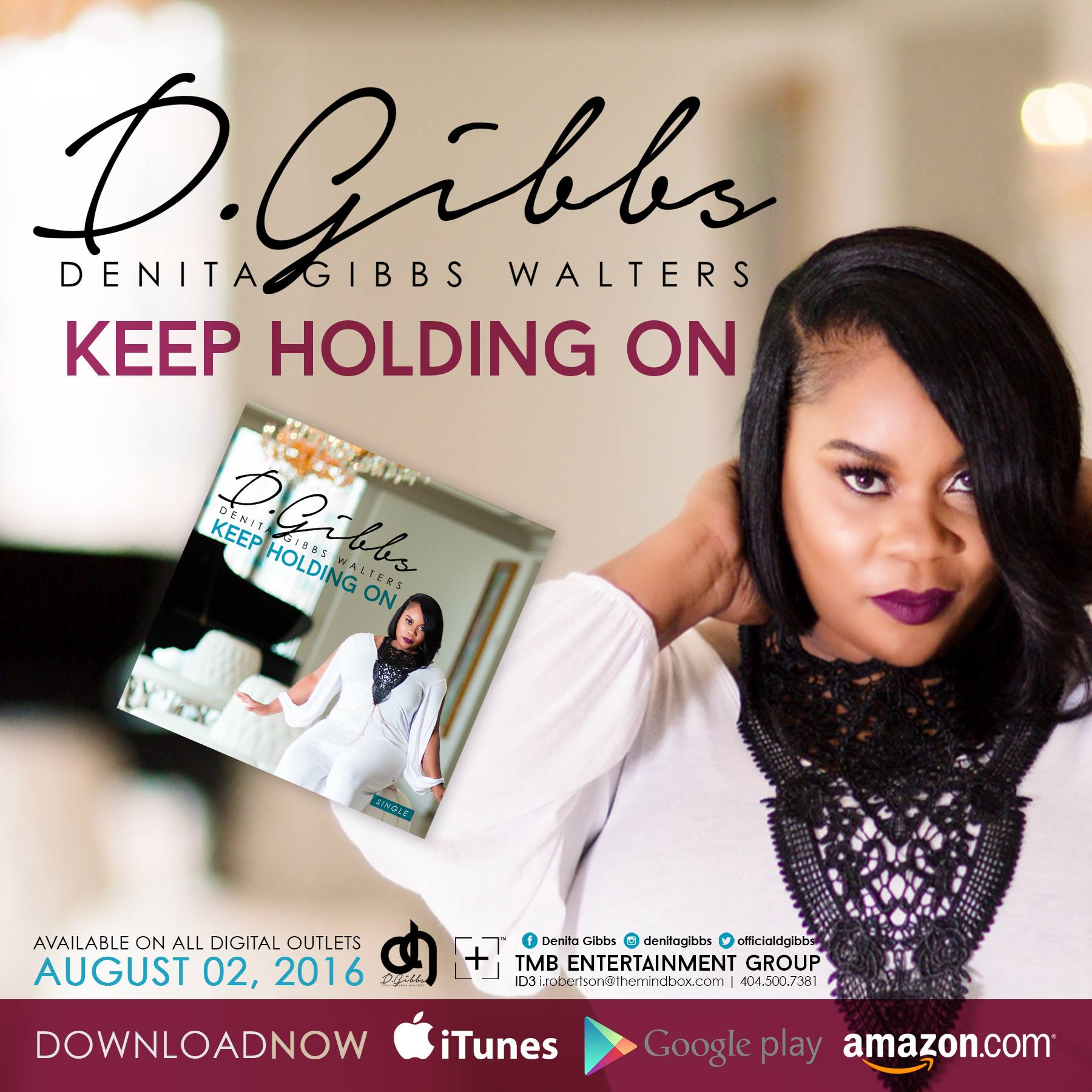 Denita Gibbs - Keep Holding On