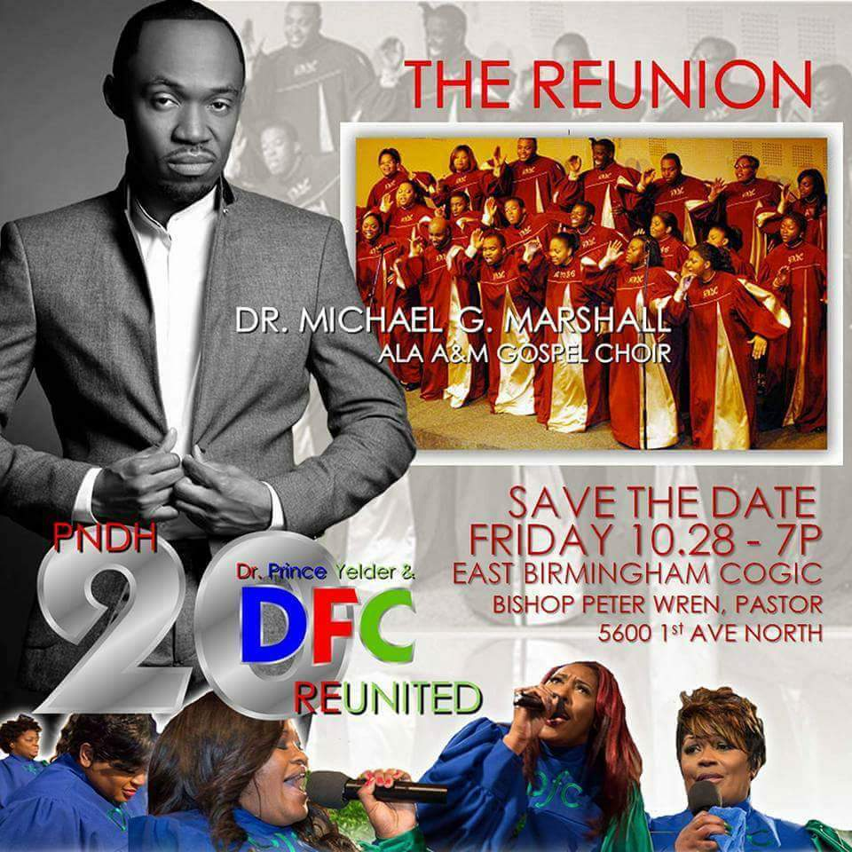 A&M Gospel Choir 2016 Reunion