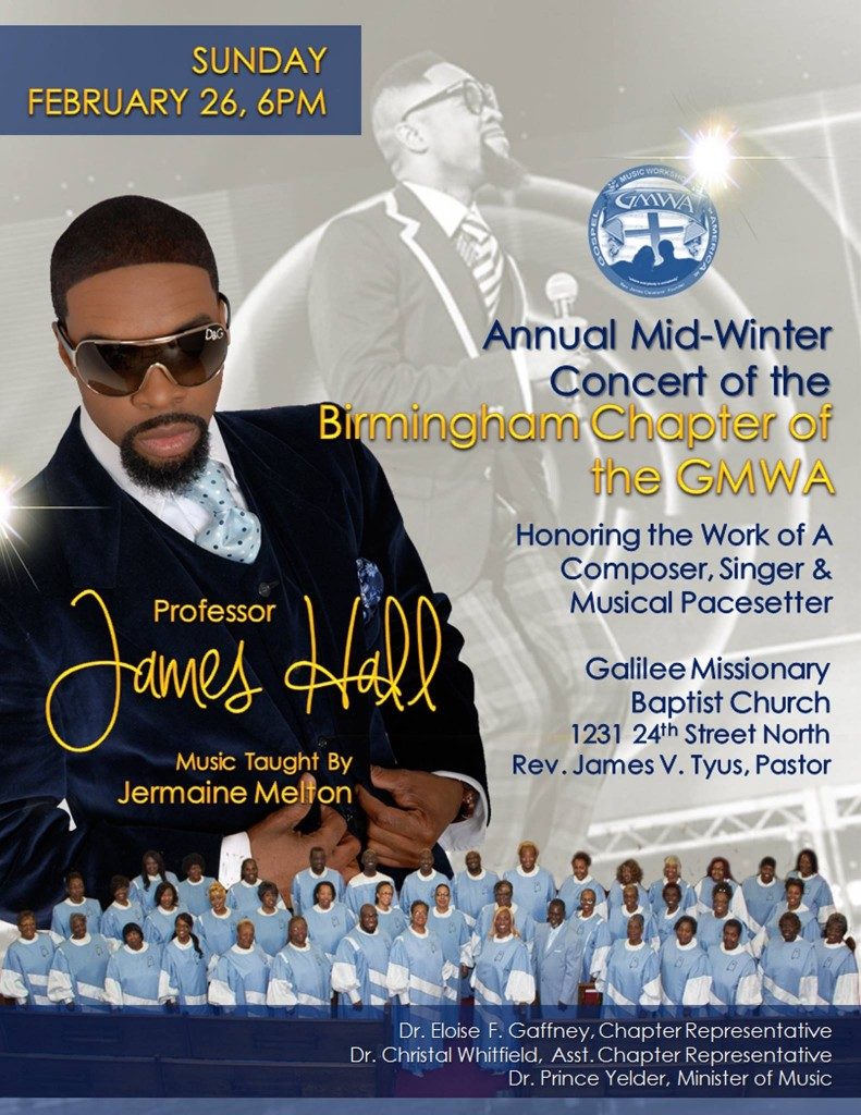 Birmingham GMWA - James Hall