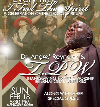 Andre Reynolds Hymn Concert