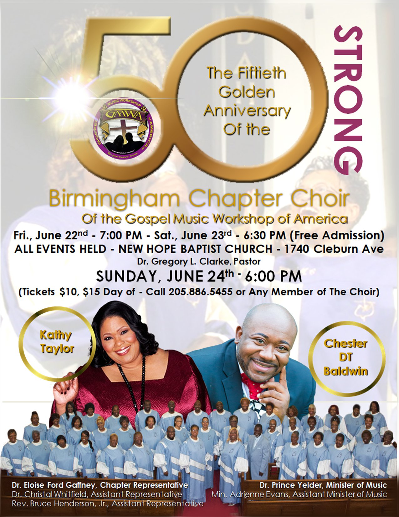 Birmingham Mass 50th Anniversary