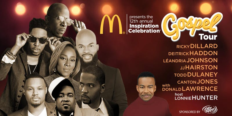 mcdonalds gospel tour