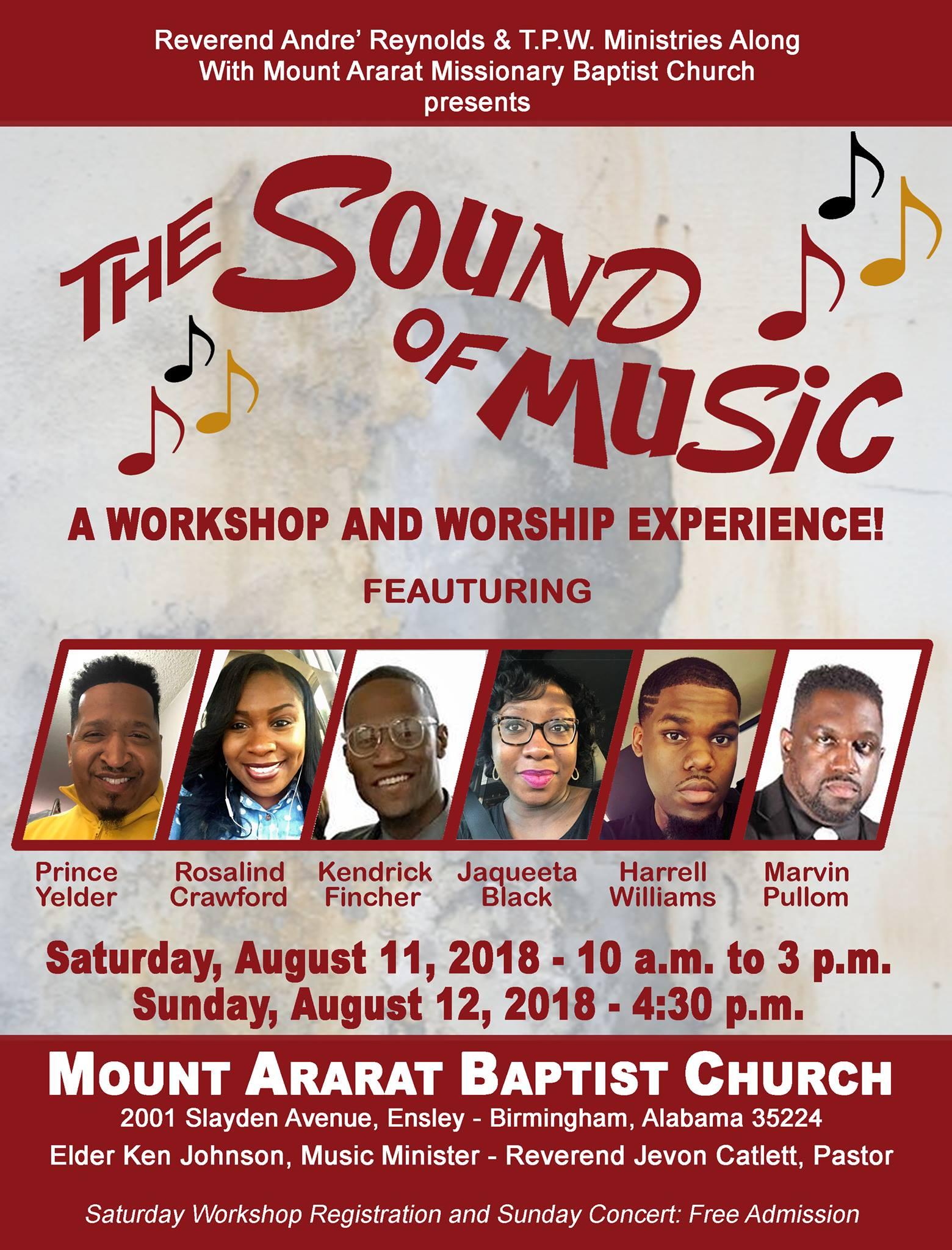 Workshop and Worship Experience