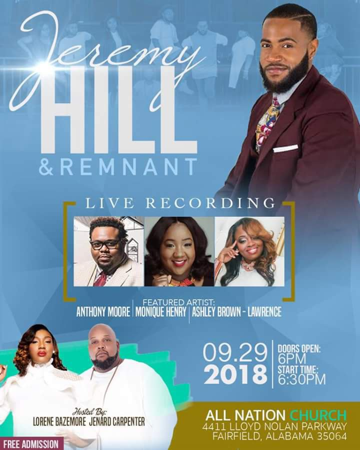 Jeremy Hill live recording