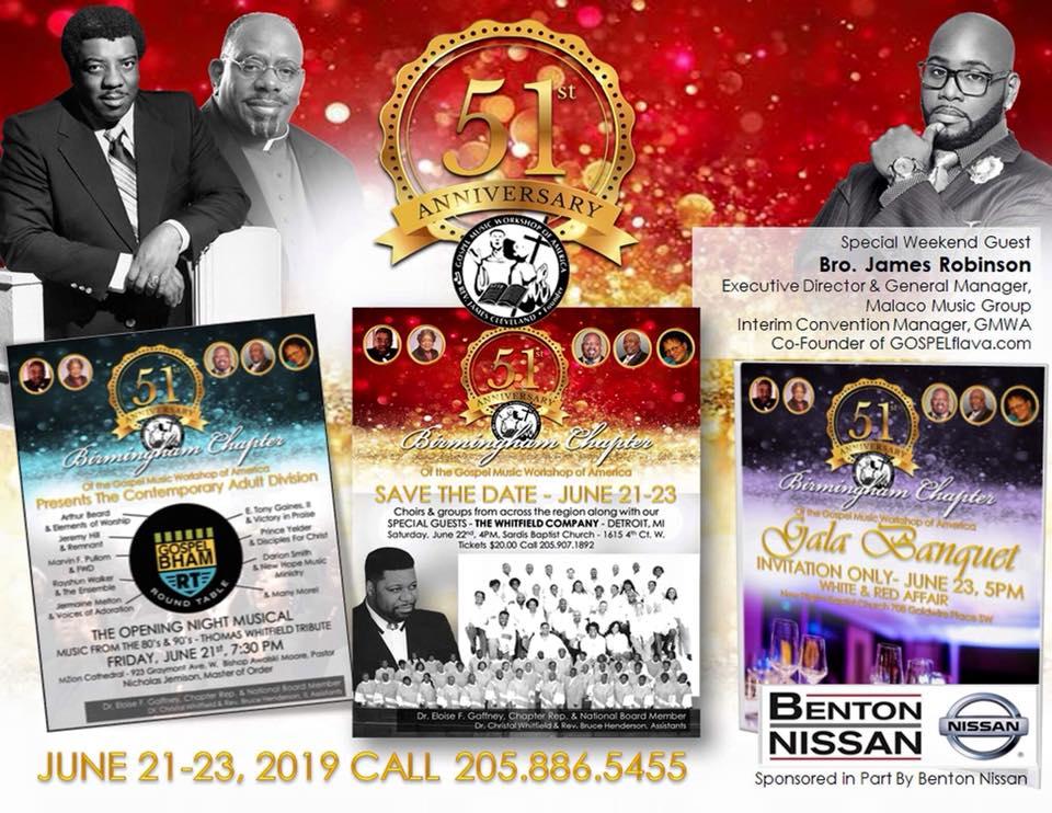 Birmingham GMWA Anniversary