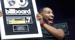 Pastor Mike JR celebrates Billboard entry