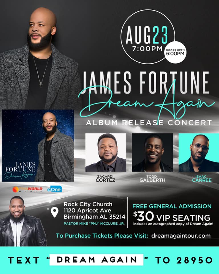 James Fortune Release at the Rock Church