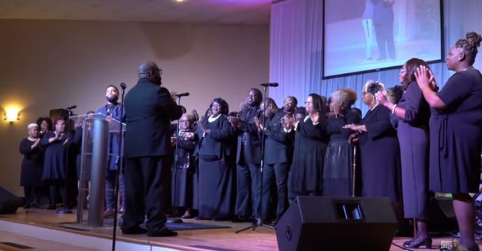 Rickey Smiley Mass Choir