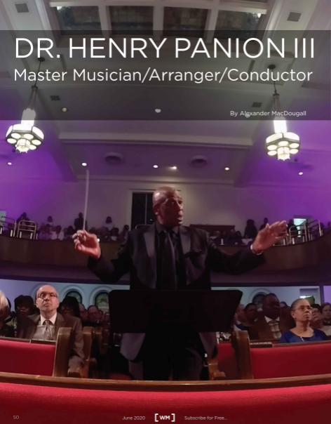 Worship Musicians cover - Dr. Henry Panion III